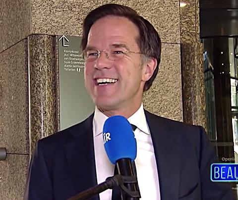 Mark Rutte pas op 16 mei met fris kapsel op televisie