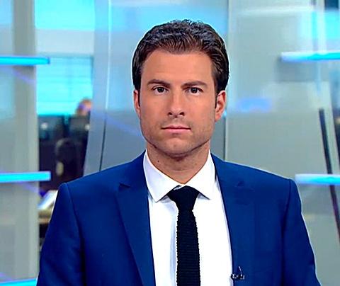 NOS-presentator Mark Visser: 'Ik ben geen homo'