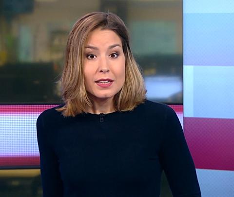 Heftig: Amber Brantsen onwel tijdens NOS Journaal