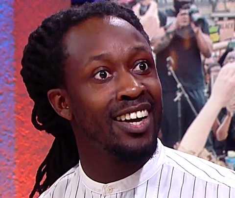 Tv-relschopper Akwasi boos over koloniale plinten
