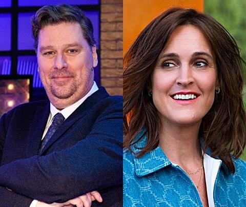 Tv-gevecht tussen Janine Abbring en Diederik Ebbinge