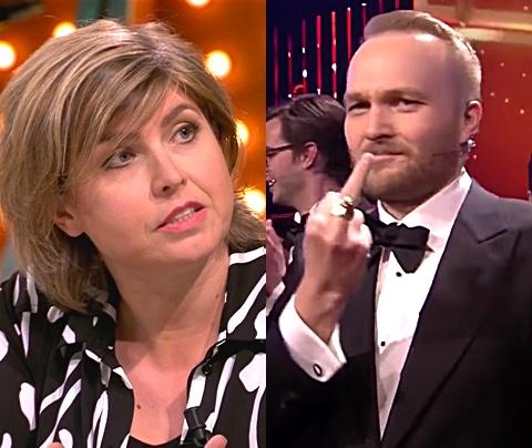 Uitgerekend Angela de Jong vindt Lubach aandachtsgeil