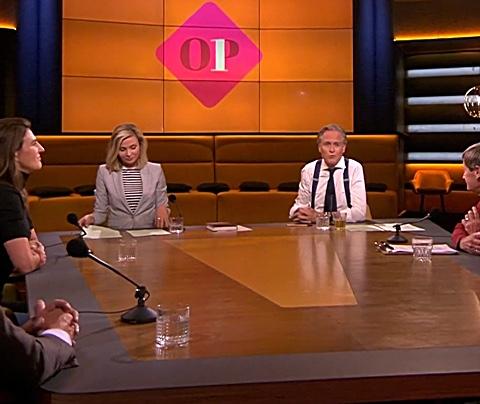 Jort Kelder met Op1-debuut ruim langs Eva Jinek