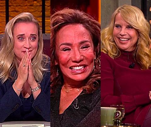 Eva Jinek en Linda de Mol juichen voor Patty Brard