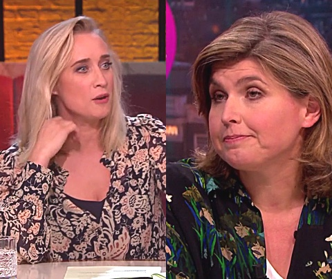 Eva Jinek: 'Je was wel héél zuur, Angela de Jong'