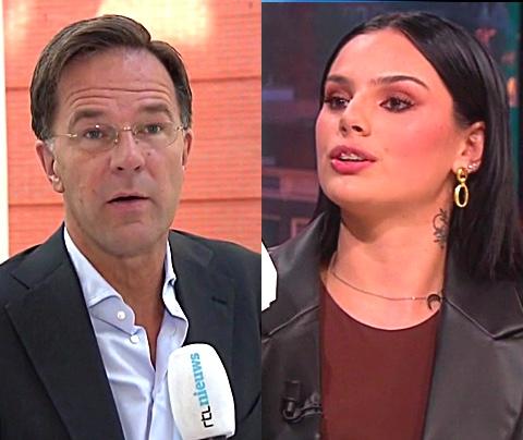 Mark Rutte wil in gesprek met Famke Louise-kamp