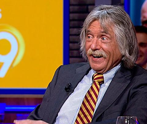 Johan Derksen bereikt dieptepunt van zijn tv-carrière