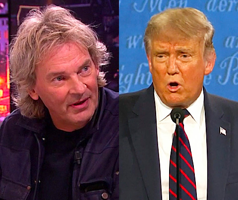 Matthijs van Nieuwkerk: 'Verzint Trump corona?'