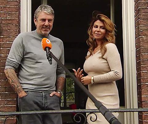Overdosis Olcay en Ruud, interview vanuit hoogwerker