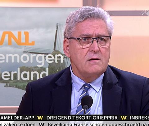Henk Krol al om 4.00 uur wakker voor 'druk mediadagje'