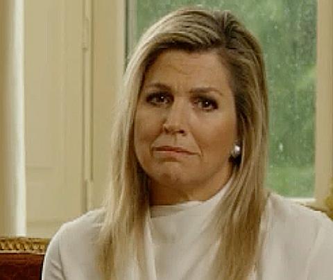'Raar dat Máxima niet praat in koninklijk sorryfilmpje'