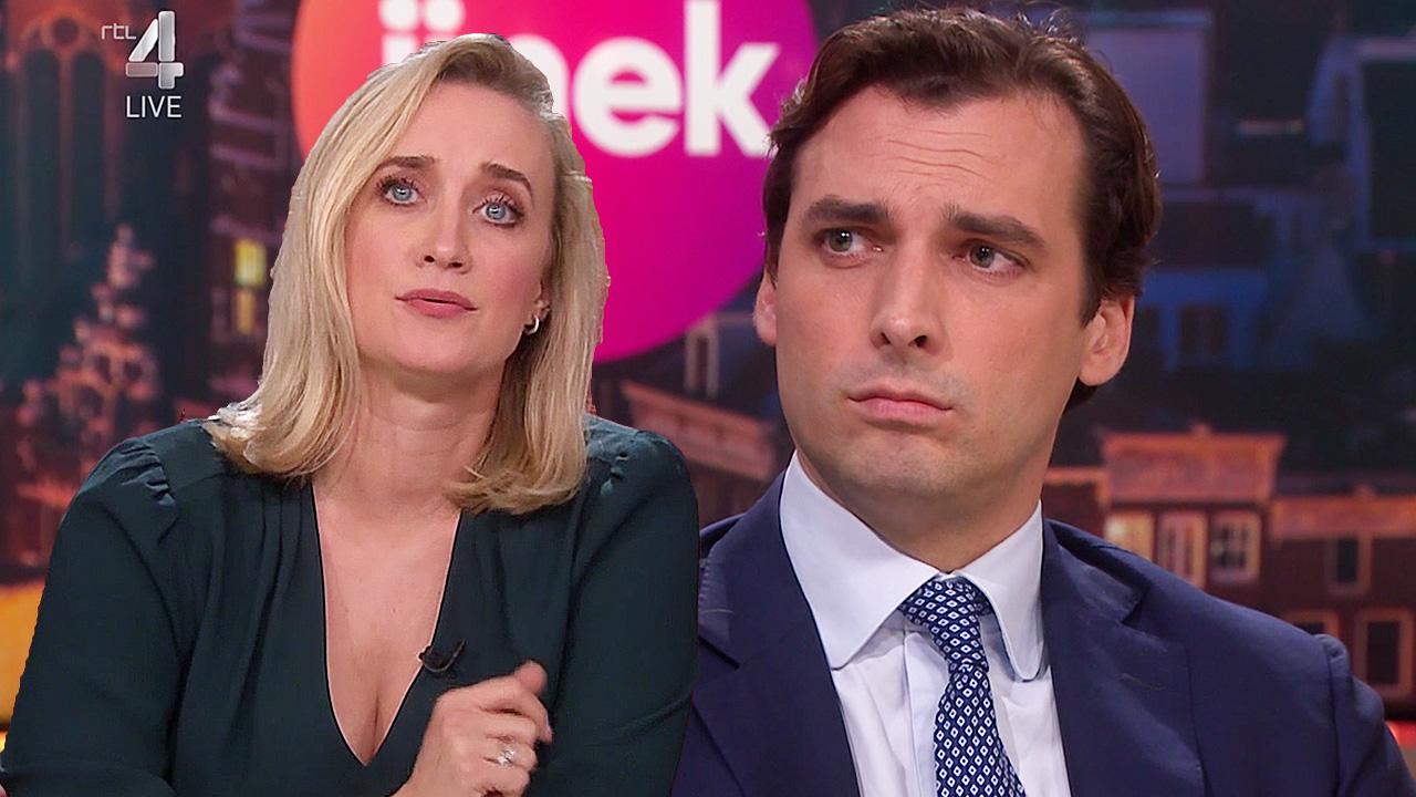 Eva Jinek en Thierry Baudet