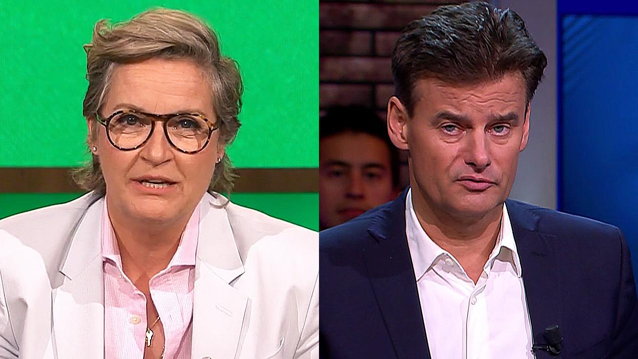 Margriet van der Linden en Wilfred Genee