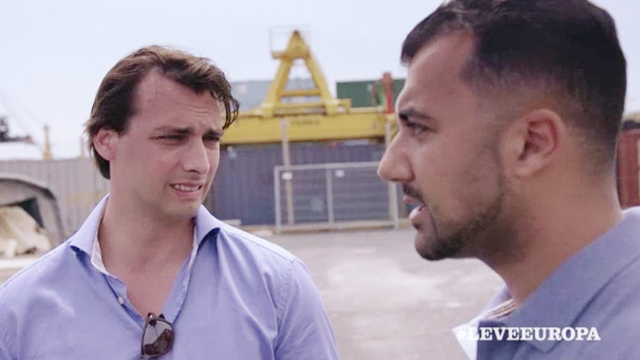 Thierry Baudet en Özcan Akyol
