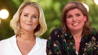 Antoinette Hertsenberg en Angela de Jong