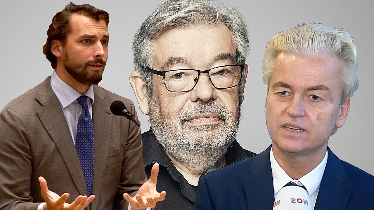Thierry Baudet, Maarten van Rossem en Geert Wilders