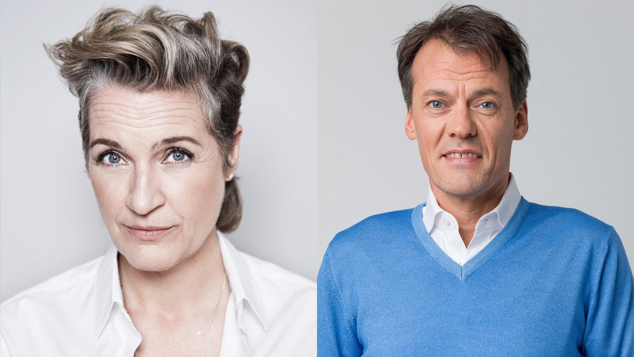 Margriet van der Linden en Tijs van den Brink