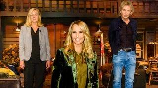 Sigrid Kaag, Linda de Mol en Matthijs van Nieuwkerk