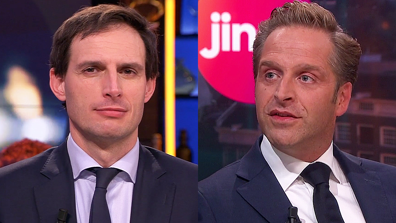 Wopke Hoekstra en Hugo de Jonge