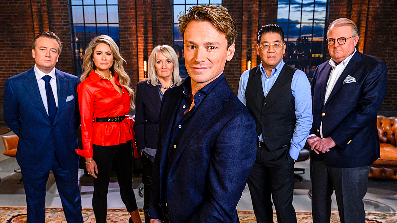 Sander Schimmelpenninck in Dragons' Den
