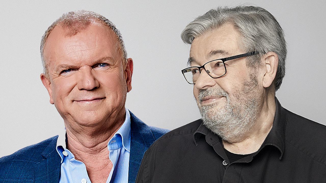Evert Santegoeds en Maarten van Rossem