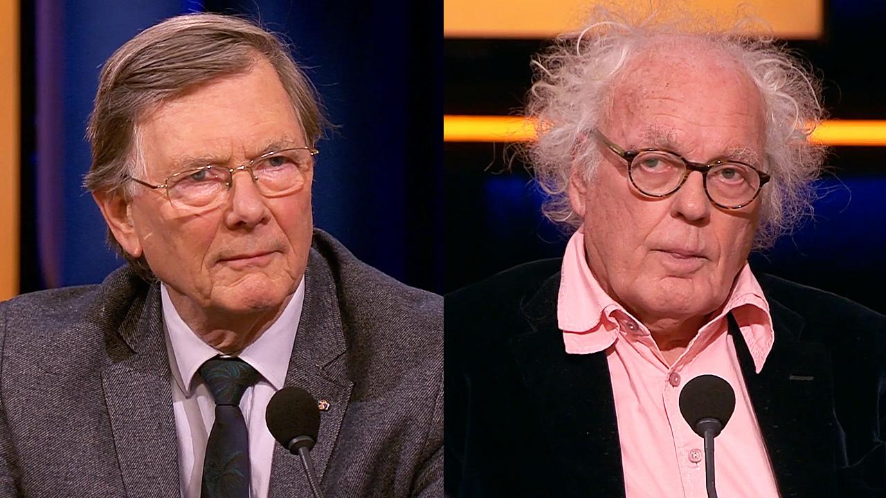 Ab Osterhaus en Henk Spaan
