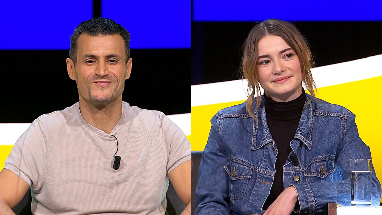 Farid Azarkan en Emma Wortelboer