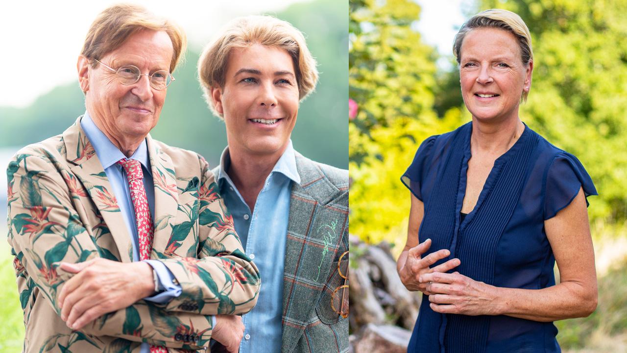 Frank Jansen, Rogier Smit en Erica Meiland