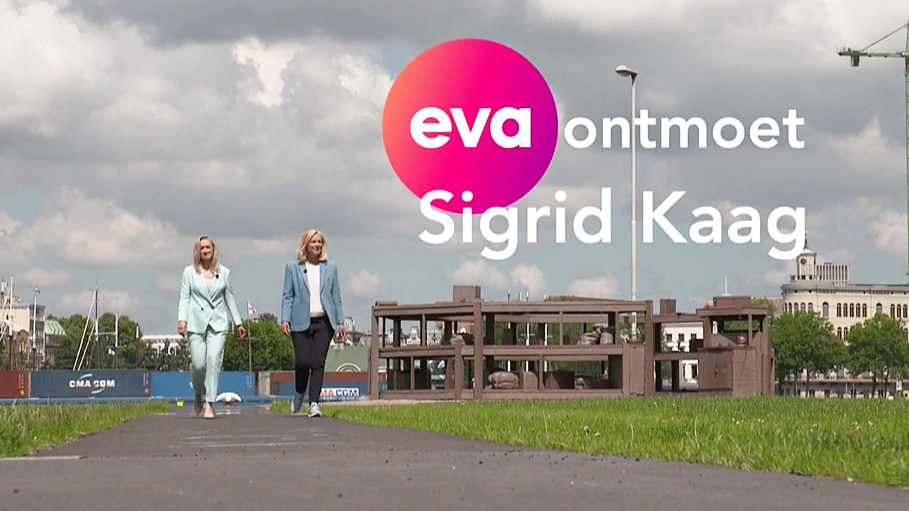 Eva Jinek en Sigrid Kaag