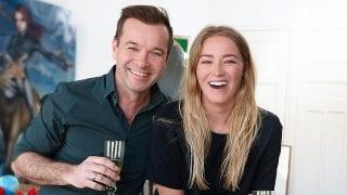 Peter van der Vorst en Geraldine Kemper