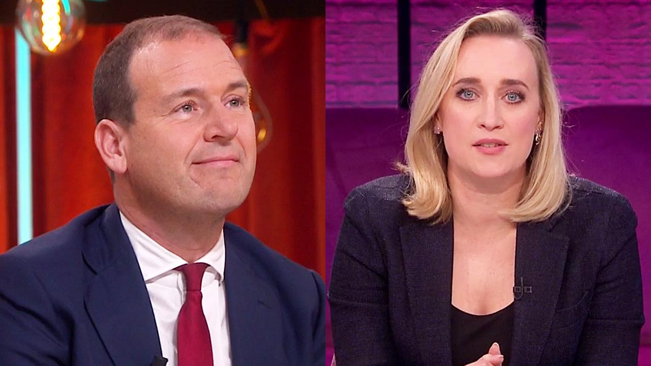 Lodewijk Asscher en Eva Jinek