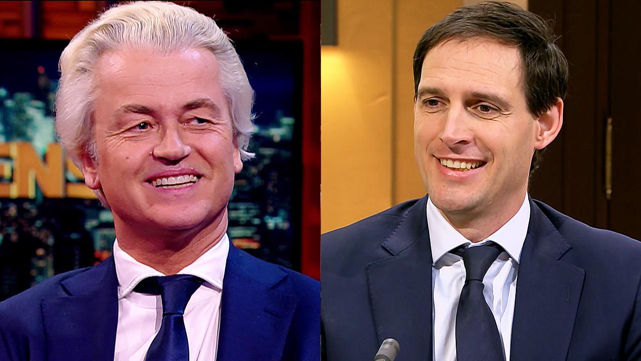 Geert Wilders en Wopke Hoekstra