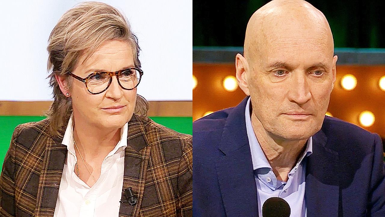 Margriet van der Linden en Ernst Kuipers