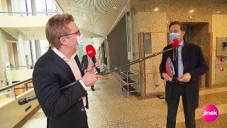 Jaïr Ferwerda en Mark Rutte