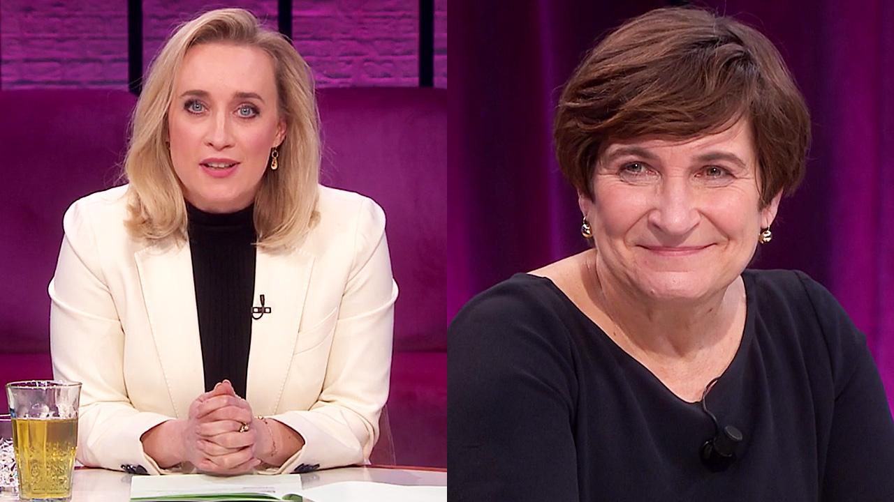 Eva Jinek en Lilianne Ploumen