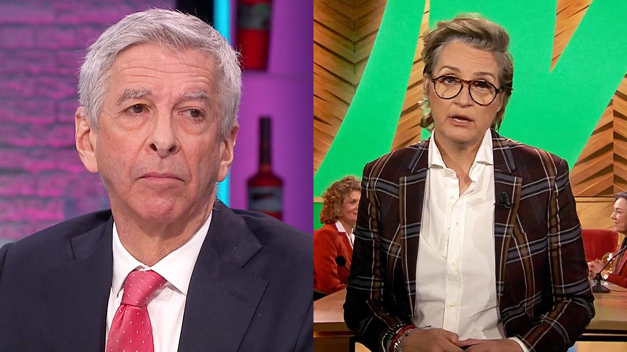 Ronald Plasterk en Margriet van der Linden