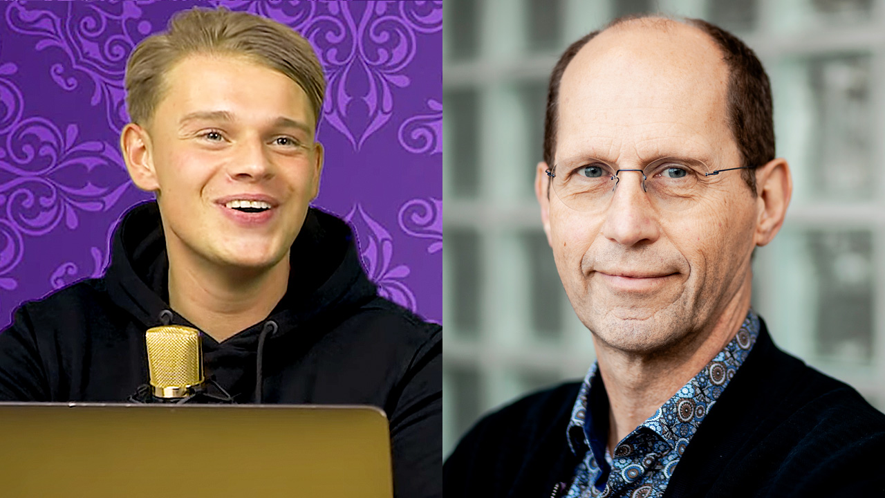 Dennis Schouten en Paul Römer
