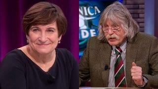 Lilianne Ploumen en Johan Derksen