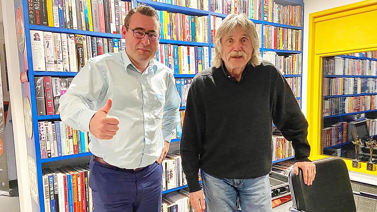 Richard de Mos en Johan Derksen