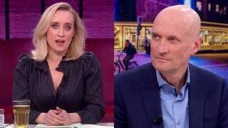 Eva Jinek en Ernst Kuipers