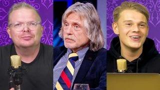 Jan Roos, Johan Derksen en Dennis Schouten
