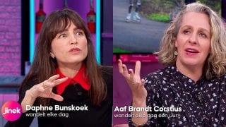 Daphne Bunskoek en Aaf Brandt Corstius
