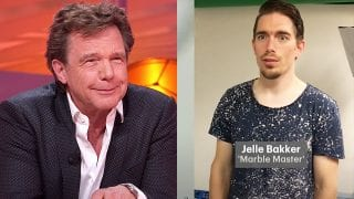 John de Mol en Jelle Bakker