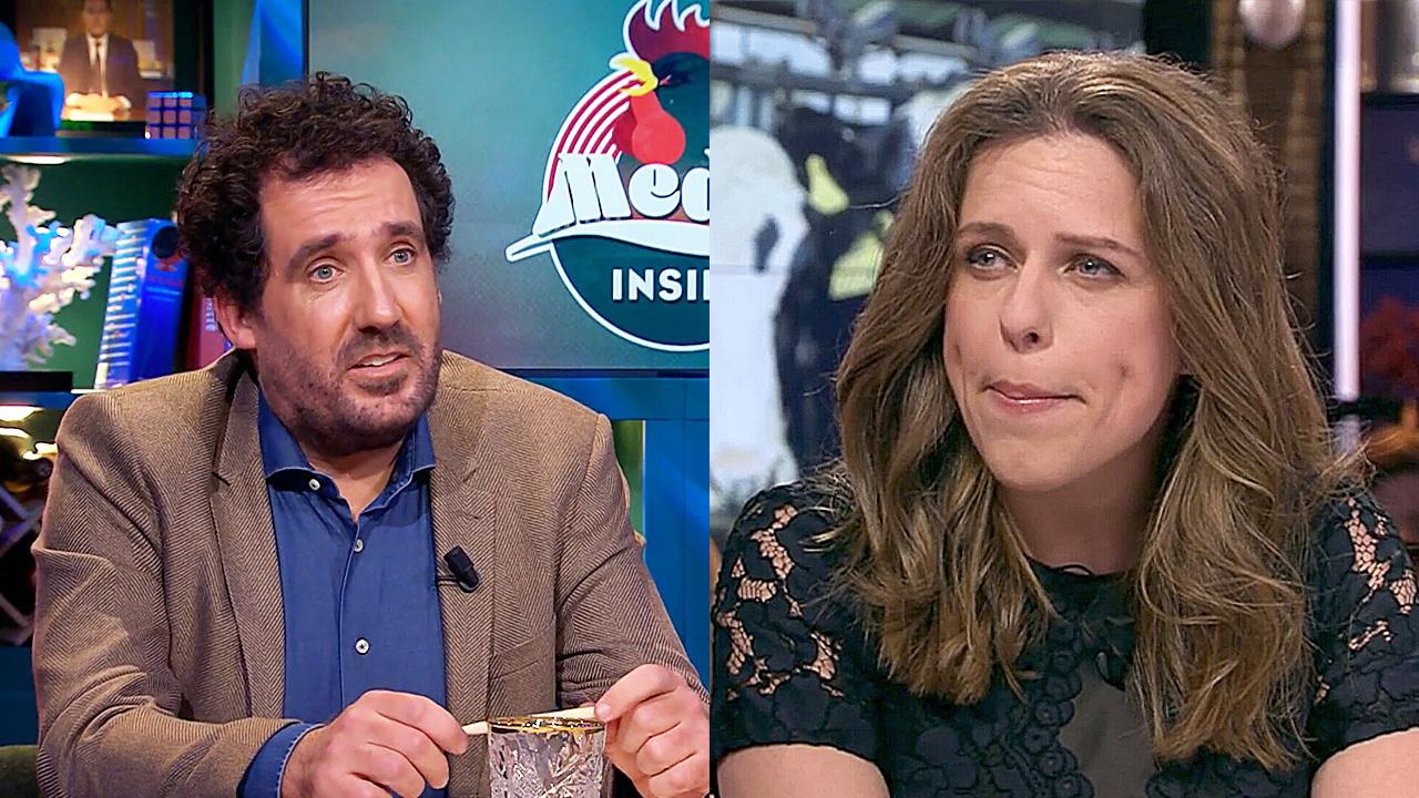 Gijs Groenteman en Carola Schouten