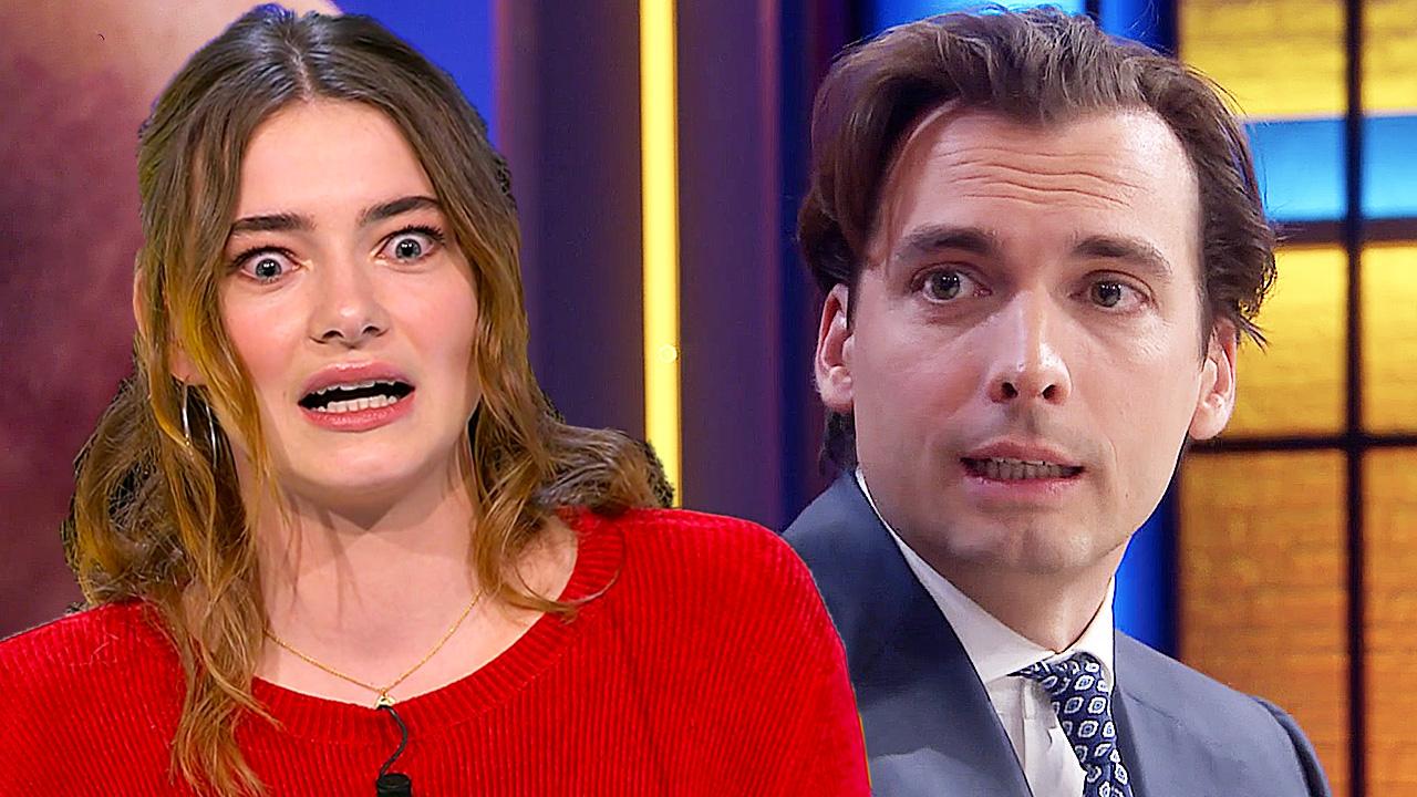 Emma Wortelboer en Thierry Baudet