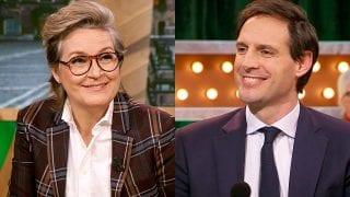 Margriet van der Linden en Wopke Hoekstra