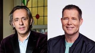 Marcel van Roosmalen en Rick Romijn