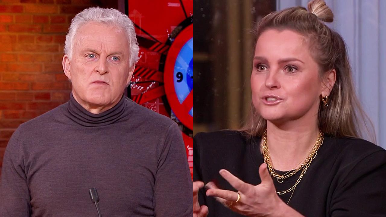 Peter R. de Vries en Fatima Moreira de Melo