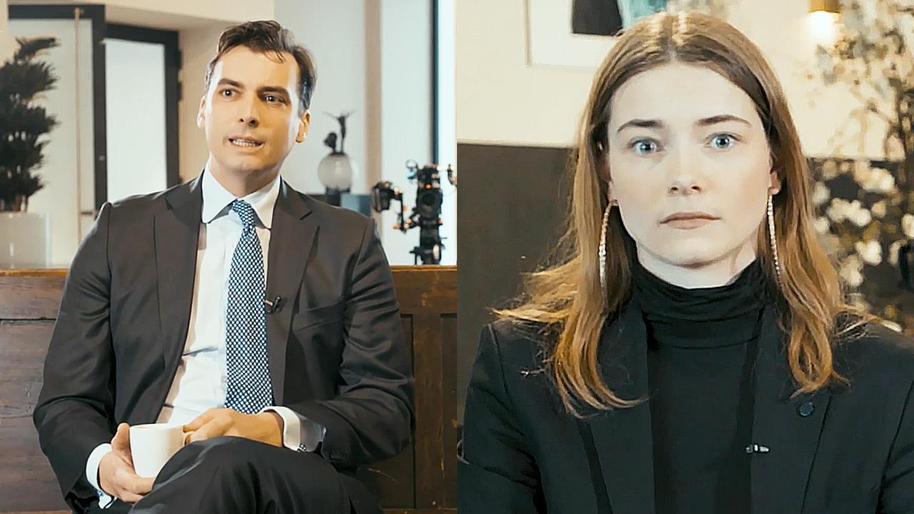 Thierry Baudet en Emma Wortelboer