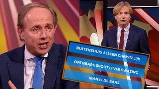Kees van der Staaij en Arjan Noorlander